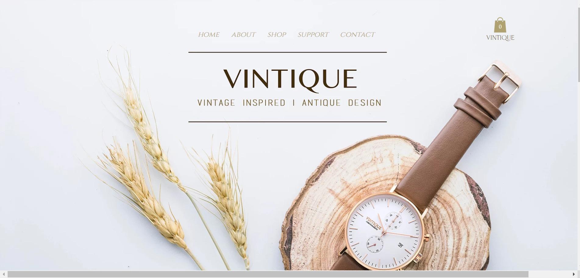 wix eCommerce website
