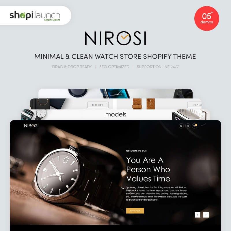Minimal Watch Store Shopify Theme