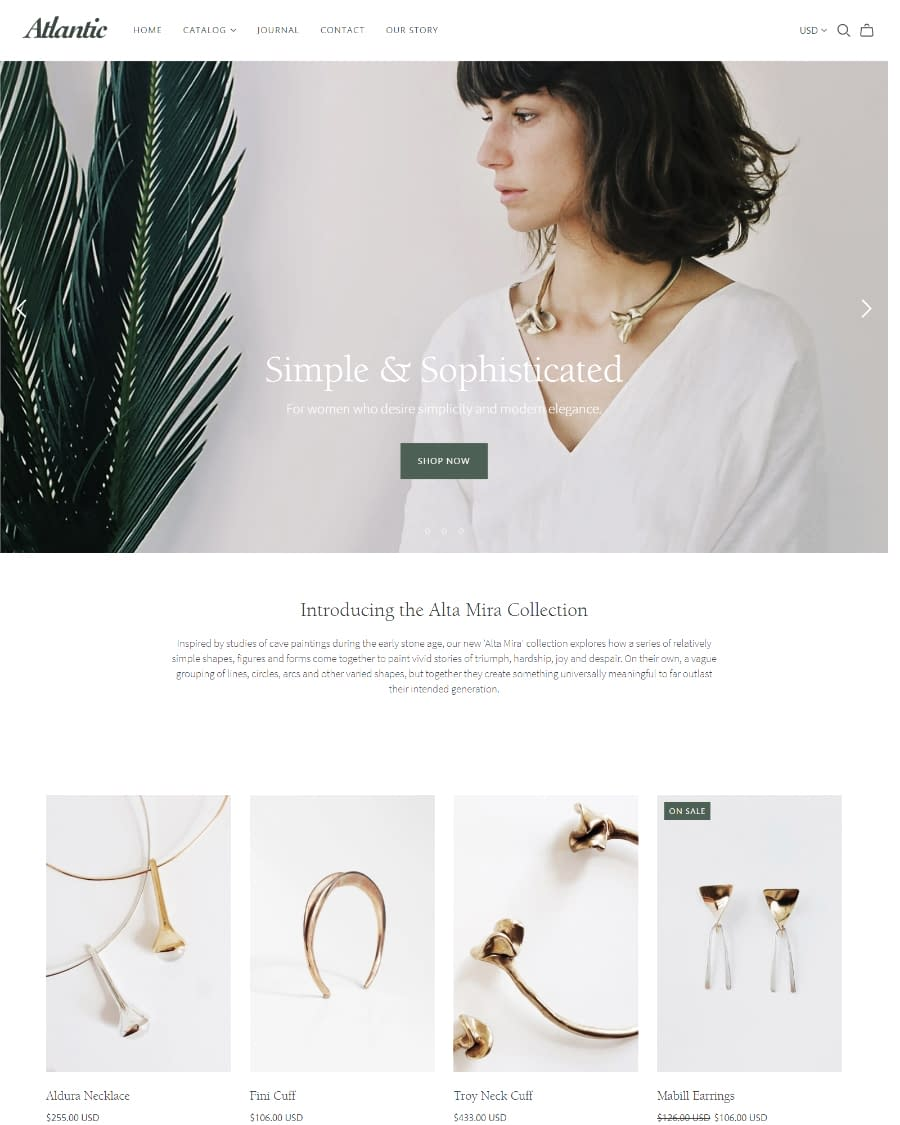 Atlantic - Shopify Theme