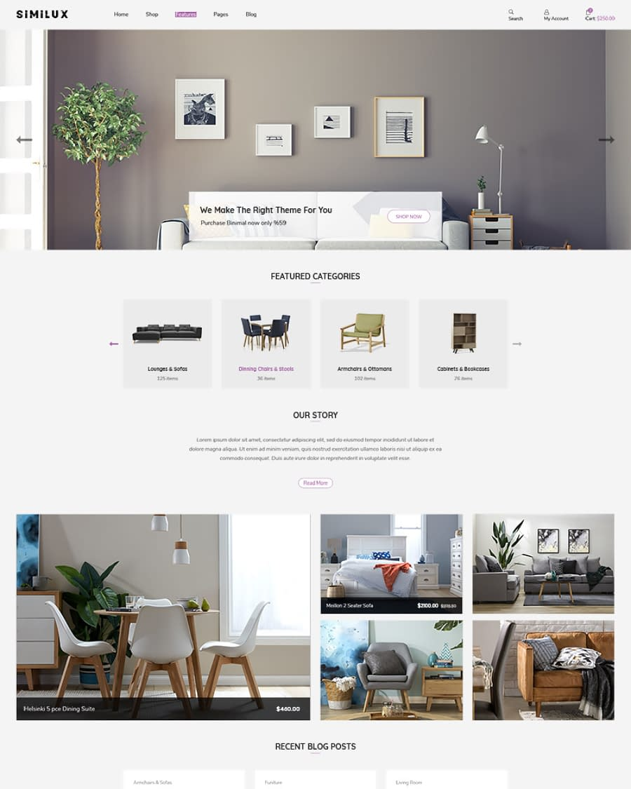Similux - Minimal Shopify Theme