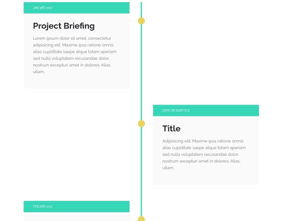 timeline plugin squarespace