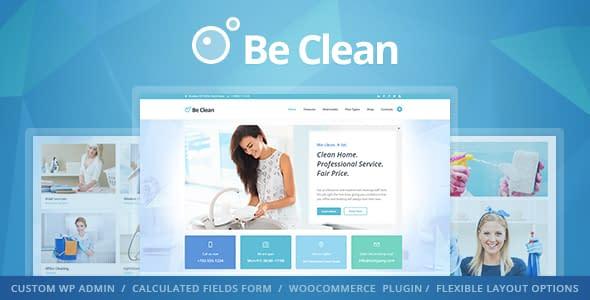 be clean wordpress theme