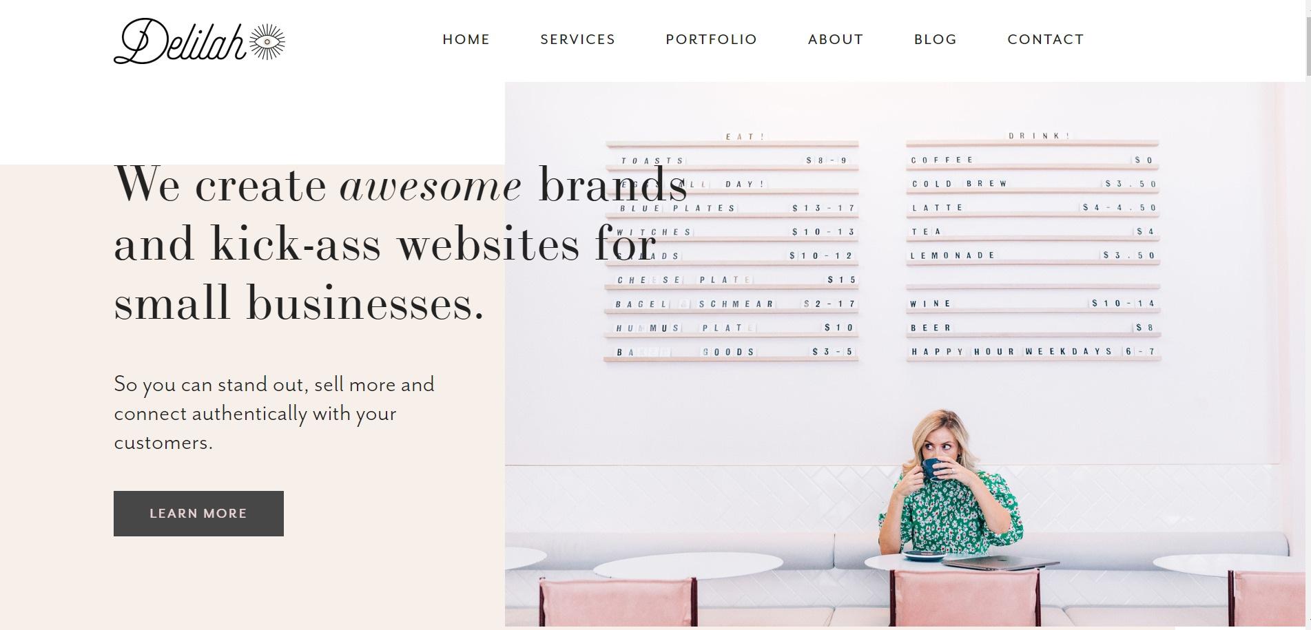 squarespace website example