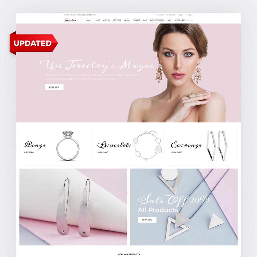 Jewelry Elegant Minimalistic Shopify Theme