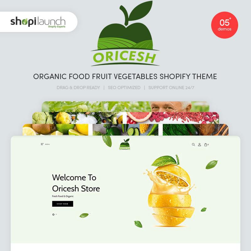 Organic Food Shopify Theme