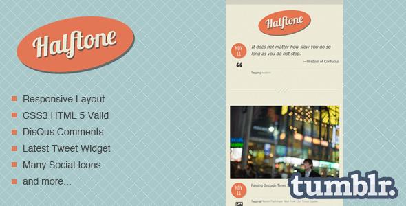 Halftone-Tumblr-Theme