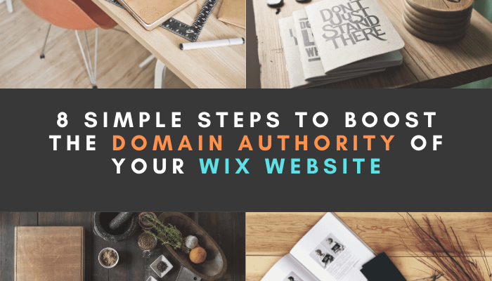 Boost the Domain Authority of your WIX website