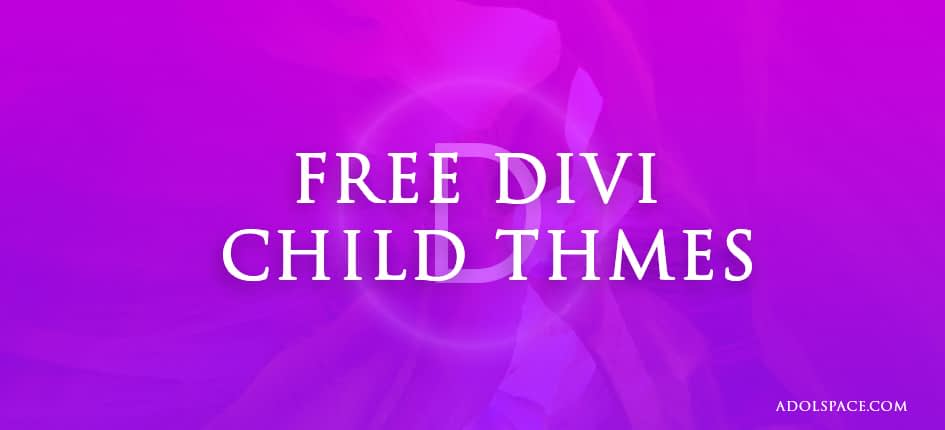 8 Best free Divi Child Themes to Download 2019